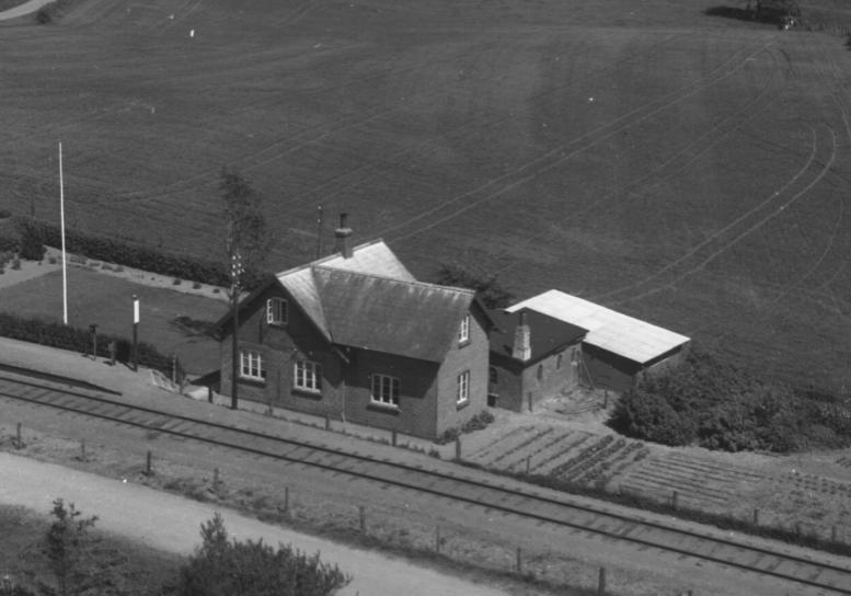 Grønderup station